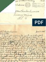 February 13 1945 to Folks
