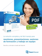 TeamViewer Meeting Brochure Es