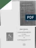 First Zionist Congress 1897