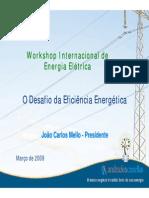 O Desafio Da Eficiencia Energetica