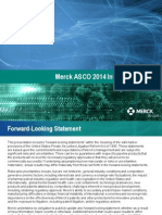 MRK ASCO Investor Briefing