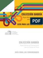 Coleccion Baquia - Guia Para Las Comunidades
