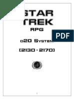 Star Trek RPG Core Rulebook Enteprize era