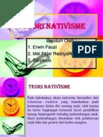 TEORI NATIVISME 2