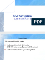 SAP Navigation Guide