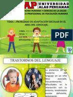 Trastornos Del Lenguaje - Psi. Educativa