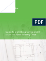 Guide to Complying Development under the Rural Housing Code