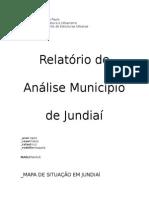 Relatório Judiaí