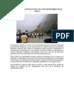 Daño en Infraestructura Vial Por Derrumbes en El Perú