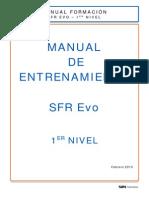 Manual de Entrenamiento SFR Evo XP (Operador) 3.2