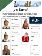 Elf Worksheet 1