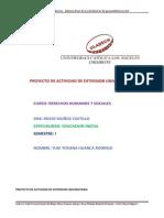Proyecto de La Actividad de Extension Universitaria Yudi