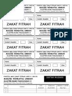 Kupon Zakat Fitrah 1431 h