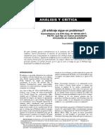 ¿El Arbitraje sigue en problemas?  Comentarios a la STC EXP. Nº  00142-2011-PA/TC
