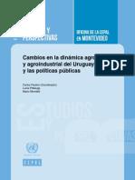 Cambios en La Dinamica Agro URUGUAY