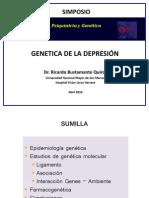 Genética de La Depresión