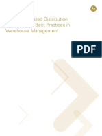 Barcoding-The Synchronized Distribution Supply Chain - Best Practices in Warehouse Management