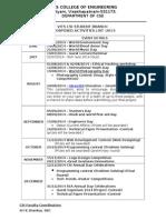 CSI Activities List 2013-14-New