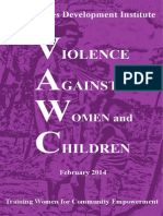 Module on Violence Against Women and Children
