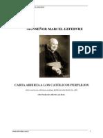 Carta Abierta a Los Católicos Perplejos - Monseñor Marcel Lefebvre
