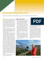 Kerela Solar Policy