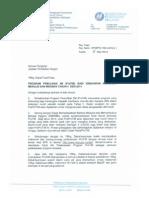 Surat Program PROTIM Tahun 4 2014