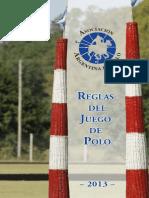 Reglamento de Polo 2013