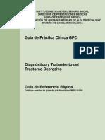 Guia Rapida Diagnóstico y Tratamiento Depresion IMSS