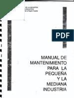 Manual de Mantenimiento para la pequeña y mediana empresa.pdf