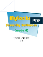 MyLocker User Manual v1.0 (Mode 8)
