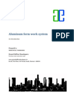 Aluminium Form Work System Intro