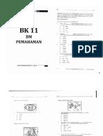 Percubaan UPSR 2014 - Terengganu - BM Pemahaman - Kualiti Rendah
