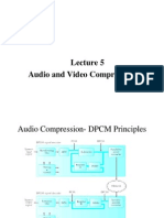 audio and video  compresssion