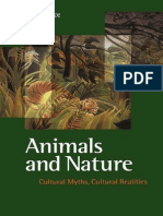 UBC Press Animals and Nature, Cultural Myths Cultural Realities (1999)