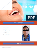 Caso C. Resina