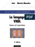 Le Langage Vhdl Cours Et Exercices