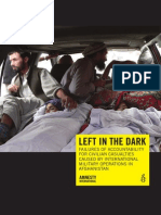 Left in the Dark Afghanistan