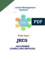 Document Management Systems White Paper JKCS
