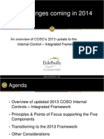COSO Changes Coming in 2014