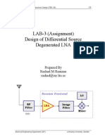 LAB3 Design of Differential LNA