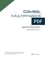 Pressure Sensor COMSOL