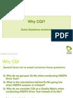 Why CQI