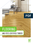 Flooring and PEFC-Certified Timber