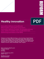 Healthy Innovation Conference Brochure