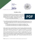 Subiect FTC 2014 - Clasa a VI-A
