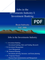 Careers in Investments - IB
