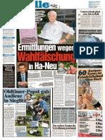Ermittlungen Wegen Wahlfälschung in Halle