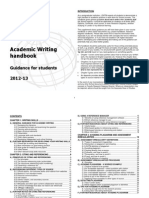 Academic Writing Handbook