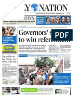 Daily Nation August 11th 2014