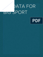Big Data for Big Sport